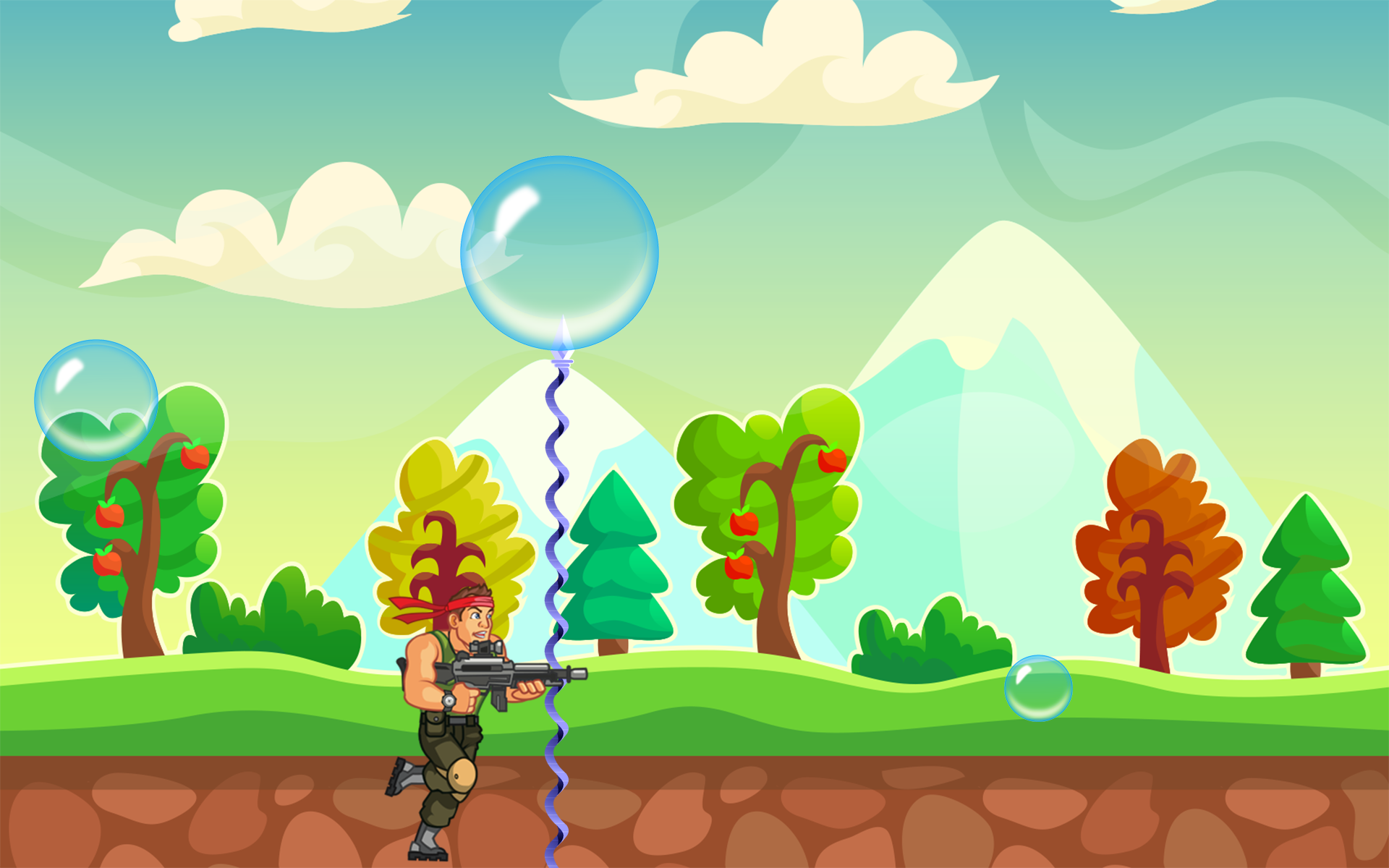hunter bubble